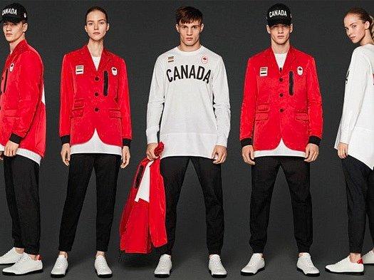 Kanada - olympijská kolekce oblečení pro LOH RIO 2016