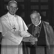 Kardinál Josef Beran a jeho hrob v Římě