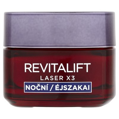 Krém-maska Revitallift Laser X3 od L'Oreal je určený ženám po čtyříctce.  Revitallift Laser X3, L Oreal, 50 ml, 759 Kč