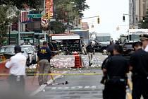Mohutná exploze, která v noci na neděli SELČ (v sobotu večer místního času) otřásla čtvrtí Chelsea na Manhattanu v New Yorku, zranila 29 lidí.