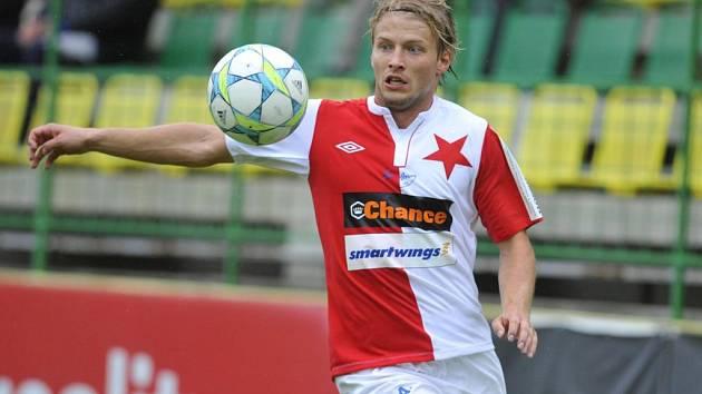 Tomáš Mičola a fotbalová Slavia? Minulost. Blonďatý záložník se možná vrátí do Ostravy.