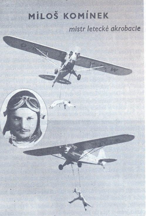 Milo Komínek, letecký akrobat