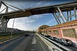 Polcevera Viaduct, nazývaný též PonteMorandi ve své původní podobě.