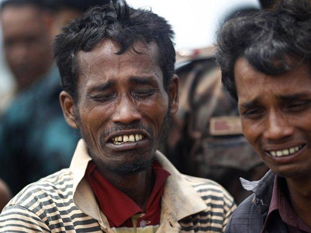 Barmští uprchlíci.
