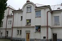 nemocnice v Žatci - budova dětského oddělení