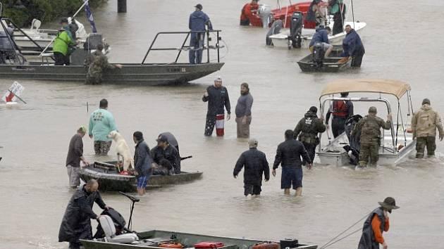 Záplavy v Texasu