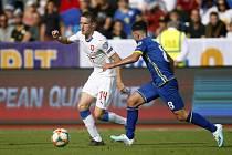 Česko - Kosovo, utkání kvalifikace odehrané v září 2019