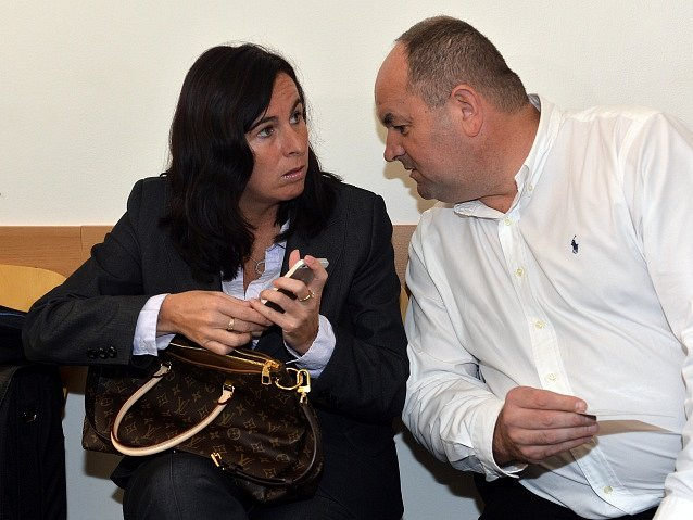 Dagmar Damková a Miroslav Pelta