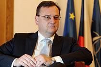 Premiér Petr Nečas