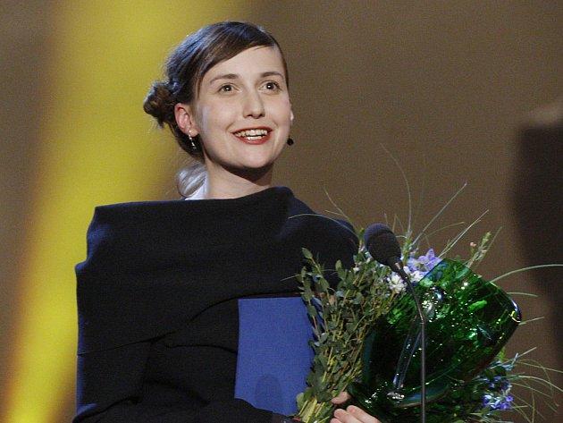 Výroční divadelní ceny Thálie za rok 2011 byly předány v sobotu 24. března 2012 v pražském Národním divadle. Na snímku Tereza Dočkalová.