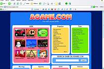 Na www.agame.com děti najdou více než 120 her.