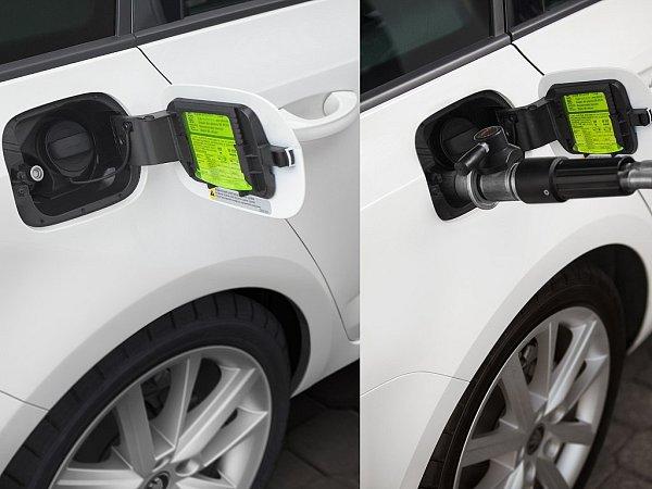 Škoda Octavia G-TEC jezdí na stlačený zemní plyn.