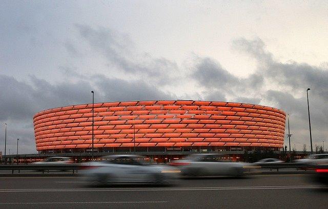 Olympijský stadion v Baku.