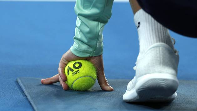 Podavač míčků na Australian Open