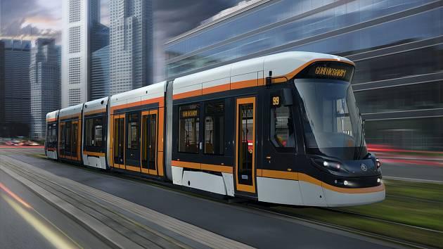 Tramvaj Škoda ForCity pro turecké město Eskişehir