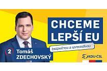 Tomáš Zdechovský, europoslanec za KDU-ČSL