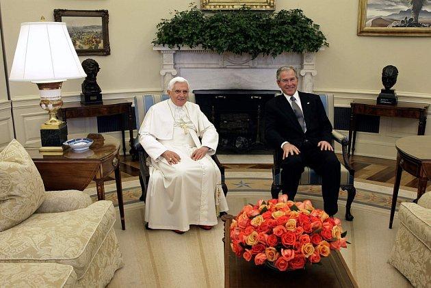 Papež navštívil na úvod své návštěvy USA Bílý dům.