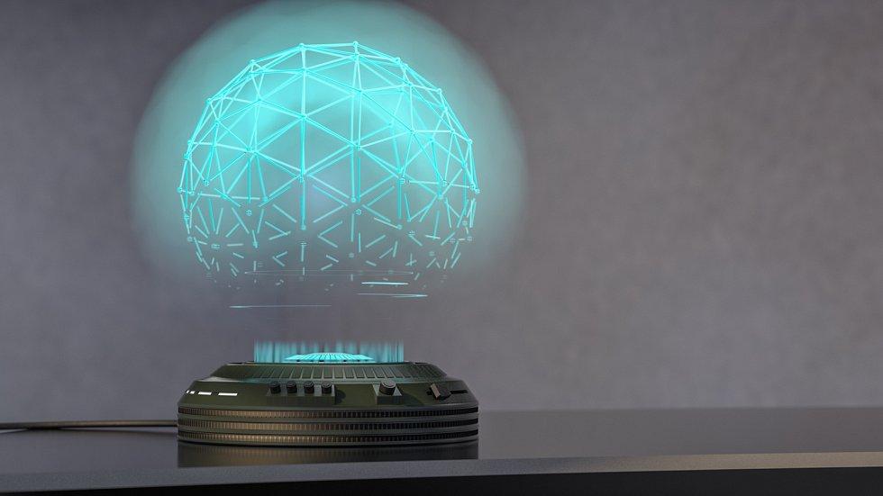 Zcela obvyklým jevem je v žánru sci-fi ukládání záznamů i živá komunikace prostřednictvím hologramů.
