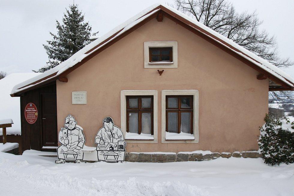 Lipnice nad Sázavou. Místo, kde dožil autor Švejka Jaroslav Hašek