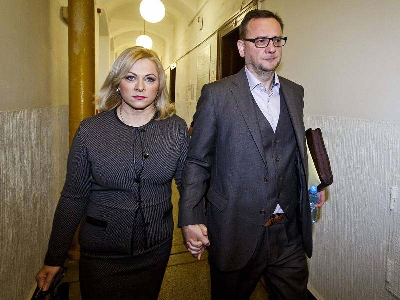 Jana Nagyová-Nečasová a Petr Nečas