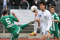 Fotbalisté Bohemians překvapivě vyhráli na hřišti Ústí nad Labem.