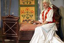 Veřejná generálka divadelní hry Záskok – The Stand In v anglickém jazyce a v podání anglických herců v Žižkovském divadle Járy Cimrmana.