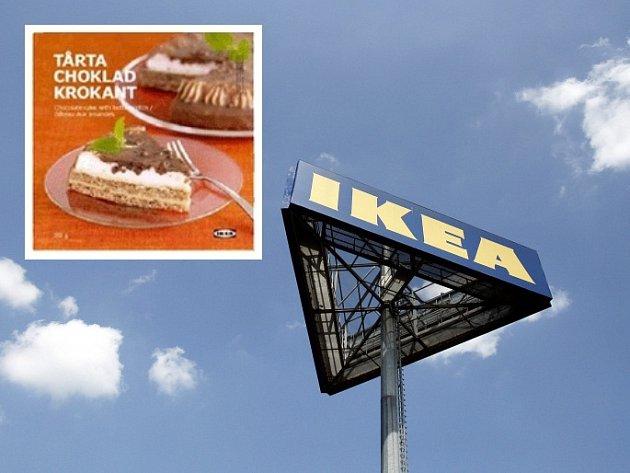 Ikea stahuje z prodeje mandlový dort, obsahoval fekální bakterie.