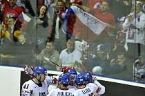 Češi porazili v závěru osmifinálové skupiny Německo 5:2.
