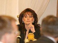 Renata Vesecká ve sněmovně