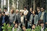 Setkání českých a polských disidentů na Borůvkové hoře v Jeseníkách v roce 1987 bylo jednou z řady bratrských diskuzí. Českou skupinu vedl Václav Havel (na fotce uprostřed).