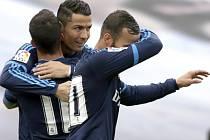 Radost hráčů Realu.