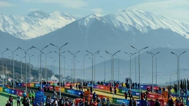 Olympijský park v Soči 2014 (ilustrační foto)