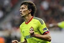 Fotbalista CSKA Moskva Roman Eremenko