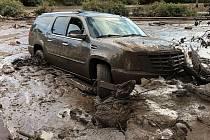 Bahenní povodeň v Kalifornii