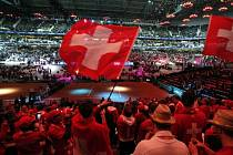 Finále Davis Cupu: Atmosféra během zápasu