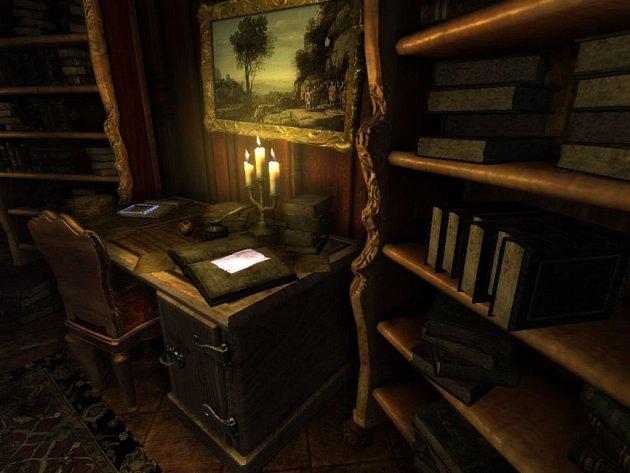 Počítačová hra Amnesia: Justine.