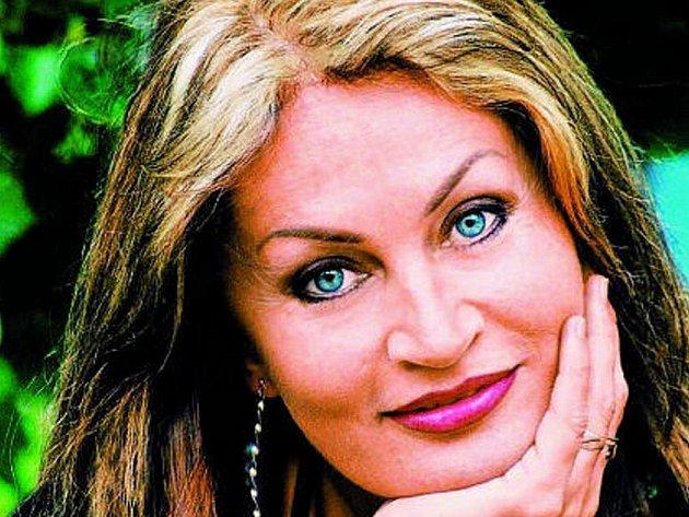 Zpěvačka Hana Horecká.