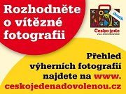 Hlasujte v soutěži Česko jede na dovolenou