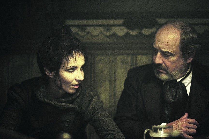 Jana Plodková a Viktor Preiss v pohádce Hodinářův učeň
