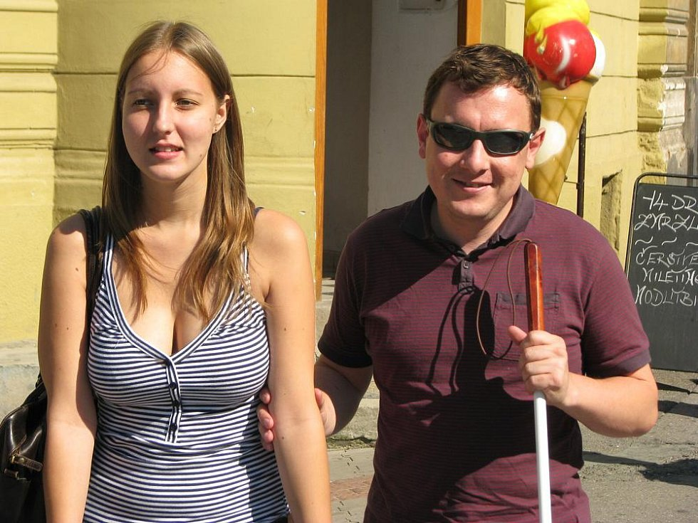 Nevidomý, ilustrační foto
