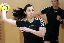 Iveta Luzumová v přípravě českých házenkářek