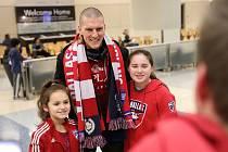 Zdeněk Ondrášek byl v Dallasu vřele přivítán fanoušky.