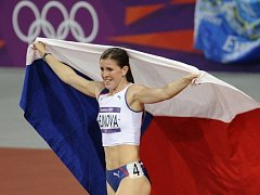 Bronzová olympijská medailistka Zuzana Hejnová.