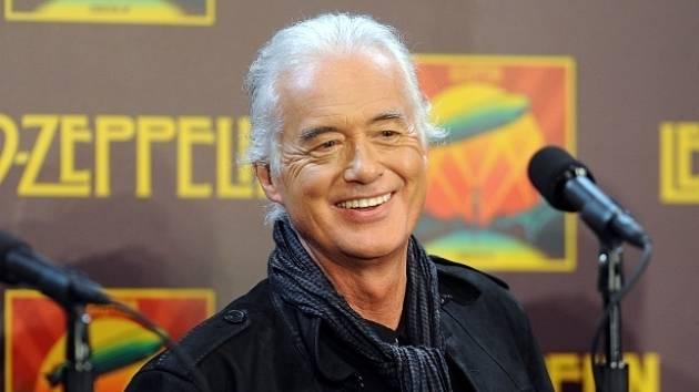 Jimmy Page. Člen legendární skupiny Led Zeppelin
