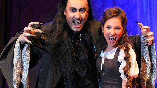 Ples upírů, Marian Vojtko a Natálie Grossová