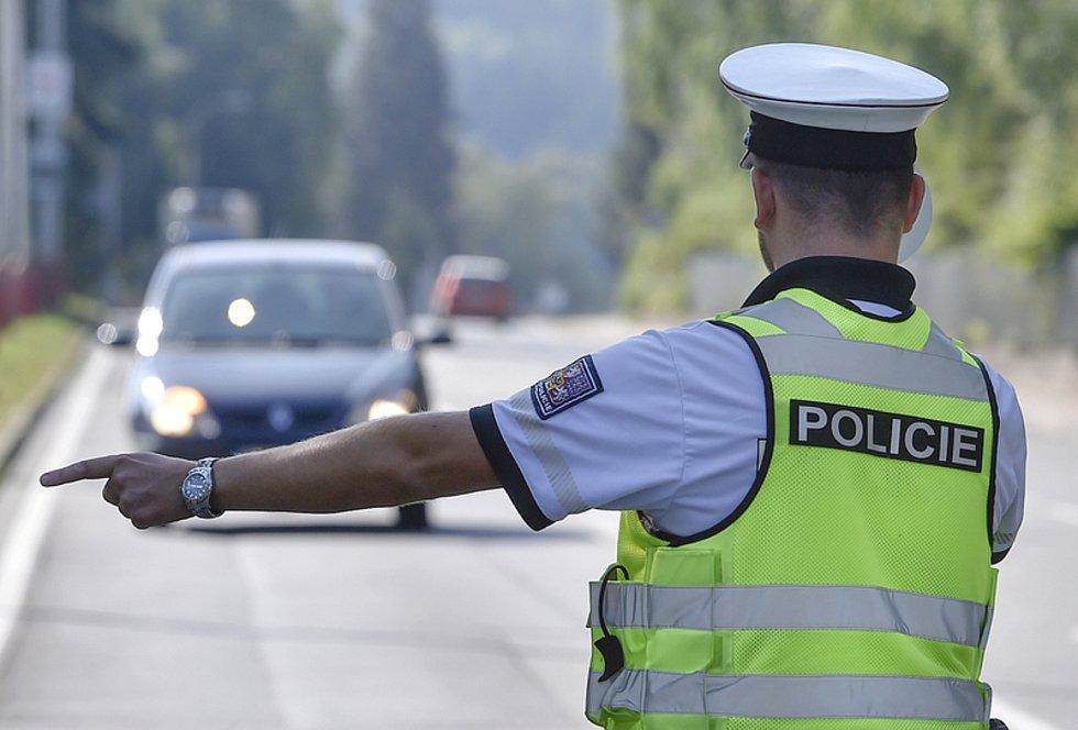 Kontrola řidičů. Ilustrační snímek