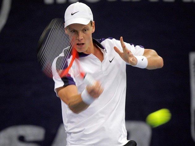 Nejlepší český tenista Tomáš Berdych.