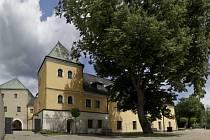 Velká Bystřice - zámek.