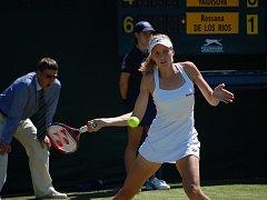 Nicole Vaidišová skončila ve Wimbledonu už v prvním kole.