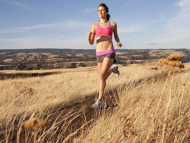 Běhání je nejpřirozenější pohyb. Ilustrační foto.